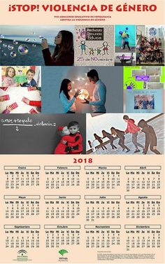 Calendario educativo STOP Violencia de género