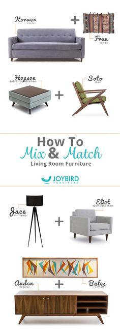 Ready to create the perfect piece of furniture—one that's just right for your home and your lifestyle? With Joybird, you can customize any of their handcrafted designs with your own choice of wood, fabric and leather. They'll even send you a free swatch kit to help you color-coordinate. Whatever your style, or needs, their selection of over 100 fabrics has you covered (literally). Discover furniture handmade the way you want it at Joybird.com.