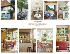 french country style magazine | bit of what's inside, like 9 beautiful homes!