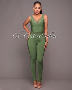 Chic Couture Online - Keyah Kelly Green Bandage Two Piece Pants Set, $90.00 (http://www.chiccoutureonline.com/keyah-kelly-green-bandage-two-piece-pants-set/)