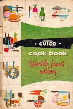 Cutco Cook Book - illustrated by Frank Marcello