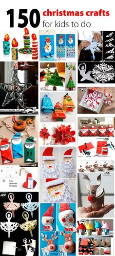 150 christmas crafts for kids to do