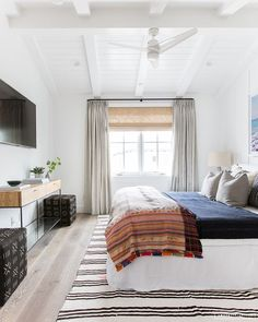 Amber Interiors Creates a Beachy Eclectic Home for Elyse Walker ~ Stace King Amber Interiors Creates a Beachy Eclectic Home for Elyse Walker — Stace King Cozy Bedroom, Trendy Bedroom, Bedroom Wall, Bedroom Decor, Bedroom Furniture, Bedroom Ideas, Target Bedroom, Jungle Bedroom, Modern Bedrooms