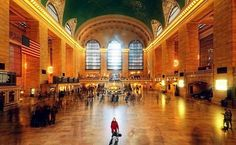 """Grand Central Terminal, New York City (21,600,000)Commonly known as the """"Grand Central Station"""", famous New York City landmark in midtown Manhattan. Grand Central is one of the busiest train stations in the world and serves nearly 200,000 commuters every day.  It is also a major tourist destination due to its beautiful Beaux-Arts architecture, its glittering ceiling painted with a map of the constellations from the night sky , the shops and restaurants which are among the best in the city."""