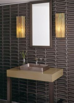 Heath Ceramics dimensional tile- picture it in white around a fire place....