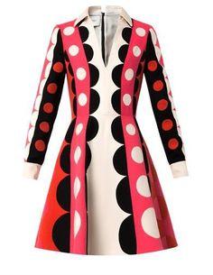Carmen Couture Crepe-Kleid von Valentino auf shopstyle.de