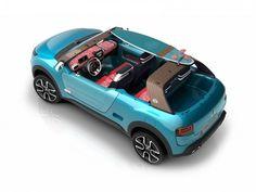 Citroën Cactus M Concept is a modern Mehari for surfers