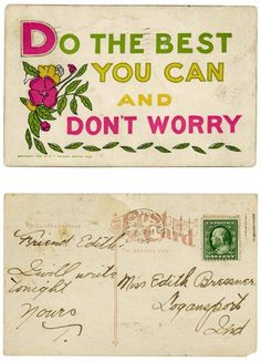 the most lovely vintage postcard Quotes To Live By, Me Quotes, Pretty Quotes, Say That Again, Write To Me, Some Words, Quotable Quotes, Love Letters, Inspire Me