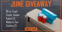 Waltons Engel Cooler Sweeps - #Win a 80 Quart Engel Cooler with Accessories from #Waltons