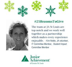 Reason #22: #JA is all about teaming up to help #kids. Be part of the team: www.fundJA.org/.  #25ReasonsToGive #partnerwithJA #fundJA