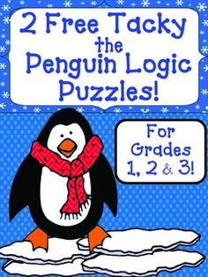 Printables Free Gifted And Talented Worksheets early finishers student and children on pinterest 2 free tacky the penguin themed logic puzzles for beginner gr 3 4 gifted talented critical thinking problem solving worksheets activiti