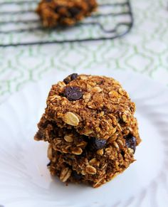 Mix it Up: Pumpkin Chocolate Chip Oatmeal Cookies