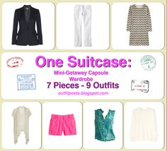 Outfit Posts: (outfits 6-10) one suitcase: business casual capsule wardrobe