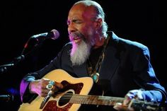 Richie Havens, the folk singer and guitarist who was the first performer at Woodstock, died Monday 4/22/13.  He was 72.  Havens died of a heart attack in New Jersey, his family said in a statement. He was born in Brooklyn.