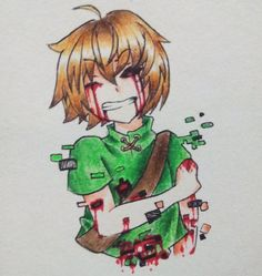 Mah poor boi, Ben Drowned ~ QvQ) Sorry not sorry for hurting this poor babu ~ ♥
