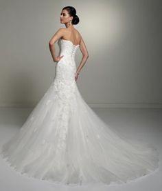 White/Ivory Wedding Bridal Mermaid Lace Dresses Custom Size 4 6 8 10 12 14 16 | eBay