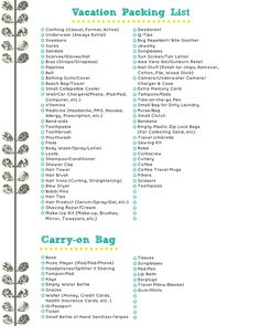 Ultimate travel tips and travel hacks. Find other useful sites as well as read through my favorite travel help. Also choose from six different free packing lists. Packing List For Vacation, Packing Tips, Travel Packing, Travel Tips, Honeymoon Packing, Cancun Vacation, Camping Packing, Budget Travel, Travel Ideas