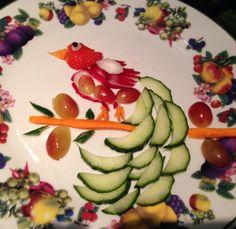 Healthy bird plate up
