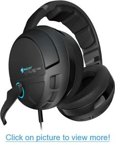 Price: No Sound Unheard The Roccat Kave XTD digital gaming headset brings uncompromising, high-fidelity audio to your in-game experience—giving you an undeniable edge over your opponents. Gaming Headset, Gaming Headphones, Headphones With Microphone, Headphone With Mic, Sports Headphones, Best In Ear Headphones, Usb, Audio, Surround Sound