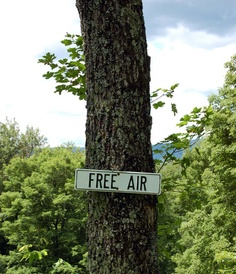 """""""Free Air""""  Better get it soon before it gets taxed, too!"""