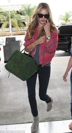 Rosie Huntington-Whiteley at LAX - June 9, 2012
