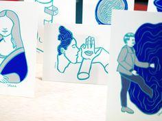 Galerie - Atelier Fwells   Sérigraphie d'art Paris