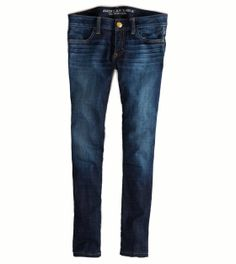 """""""Tinted Indigo"""" super stretch jegging! <3 Tight skinnies that are the perfect length and will go with absolutely any looser fit top and shoes!"""