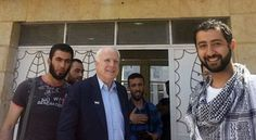 These days John McCain has been a vocal opponent of ISIS. But it wasn't long ago that he went to Syria to meet with factions of rebels fighting the Syrian government who now have turned out to be ISIS members. While there are many factions fighting against the Assad Regime, those in the pictures taken with Senator McCain have been positively identified as members of the self-styled