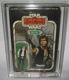 From the top 30 most valuable Star Wars toys (Part One) blog post - Han Solo (1980) – $2,500 Would love to have this!