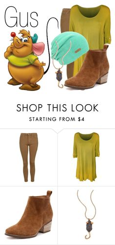"""Gus~ DisneyBound"" by basic-disney ❤ liked on Polyvore featuring Topshop and Marc Jacobs"