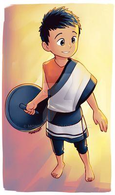 Nameless Cute Little Boy by MondoArt.deviantart.com on @DeviantArt