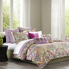 Echo is crazy for Paisley! Echo Design™ Vineyard Paisley Duvet Cover.
