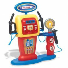 Self Service Gas Station - Interactive - Tricycles, Scooters & Wagons #Kid #Kids #Toy #Toys #Christmas #Holiday #Holidays #Wish #Wishlist #Child #Children #Tricycles #Scooters #Wagons #Rides #Gift #Gifts #Present #Presents #Idea #Ideas $49.95