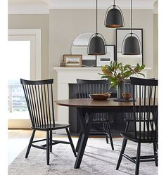 Haleigh Wire Dome Pendants | Rejuvenation | Ideal lighting design for kitchens, dining rooms, entryways & living spaces.