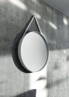 HAY Strap Mirror 50 cm fra lunehjem.no