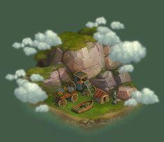 "Buildings for social game ""klondike"", Artem Hodas Forest Games, Social Games, Behance, Apps, Fictional Characters, App, Fantasy Characters, Appliques"