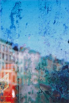 """Saul Leiter has made an enormous and unique contribution to photography. His abstracted forms and radically innovative compositions have a painterly quality that stands out among the work of his New York School contemporaries. Perhaps this is because Leiter has continued through the years to work as both a photographer and painter. His painterly sensibility reaches fruition in his painted photographs of nudes on which he has actually applied layers of gouache and watercolor."" wiki"