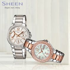 Upto 20% off on #Casio Sheen Collection!!
