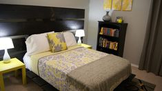 Yellow And Gray Bedroom Ideas — Home Office Interiors