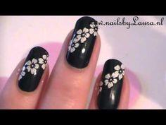 Spring nail art / lente nail art met essence - YouTube