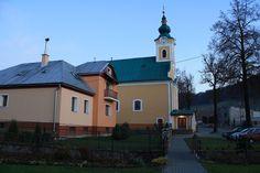 Pohronska Polhora, Kostol sv. Michala Mansions, House Styles, Home Decor, Decoration Home, Room Decor, Fancy Houses, Mansion, Manor Houses, Mansion Houses