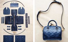 Deconstructed: The Anatomy of A LOUIS VUITTON Speedy Handbag Pinned from Love Maegan