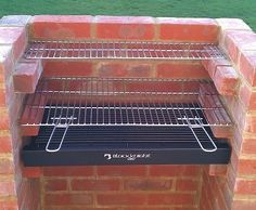 Brick BBQ Kit With Chrome Cooking Grill - BKB200