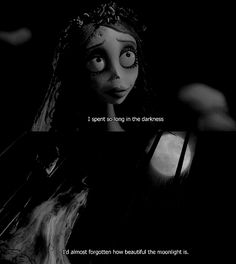Image may contain: 1 person, text Corpse Bride Quotes, Corpse Bride Movie, Tim Burton Corpse Bride, Arte Tim Burton, Dead Bride, Film Serie, Film Quotes, Disney Quotes, Stop Motion