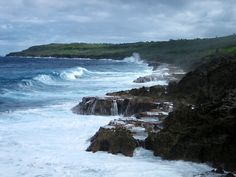 Área da costa de Niue, Nova Zelândia | Foto: FearlessRich.