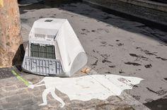 Creative Street Art by Sandrine Boulet
