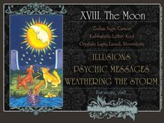 The Moon Tarot Card Meanings Rider Waite Tarot Deck 1280x960