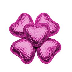 100 Chocolate Hearts, Cerise, £20.95