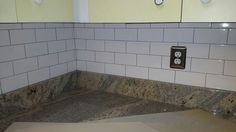 Subway tile with new outlets and cover