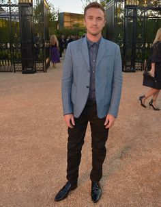 Tom Felton Burberry Los Angeles Olay 2015 Resim Adrian Grenier, Jason Statham + Daha Los Angeles, Burberry London kutlayın